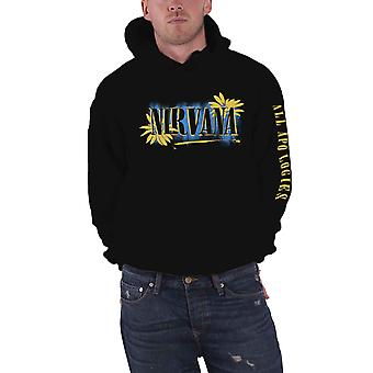 Nirvana Hoodie All Apologies Band Logo new Official Mens Black Pullover