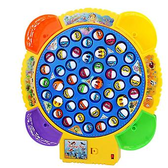 Electric Musical Rotating Fishing Board Game  (45 Fishs B)