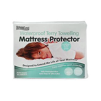 Dreameasy Terry Towelling Waterproof Mattress Protector