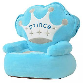 vidaXL Muhkea Lasten tuoli Prince Blue