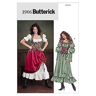Butterick أنماط B3906 Misses'/ Misses 'صغيرتي زي، لقطني ونش الحجم 12-14-16 من قبل أنماط حانة سانت باولي فتاة