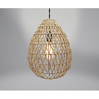 Country Club Woven Light Shade, Natural