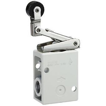 SMC Red Push Button (Mushroom) Pneumatic Manual Control Valve, R 1/4 1/4 R