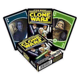 Tähtien sota kloonaa sotia pelaamalla korttia