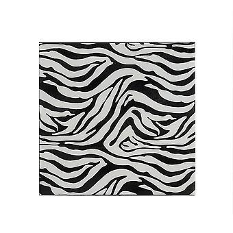 Small Iron Faux Zebra Skin Wall Tile
