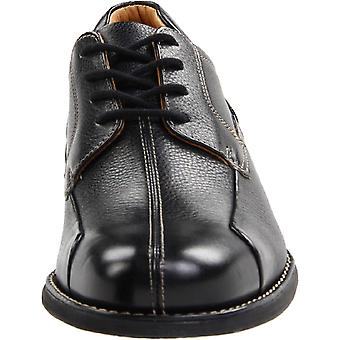 Johnston & Murphy Mens Shuler Leather Lace Up Dress Oxfords