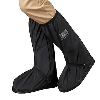 Vodotěsné řiditelné motocyklové / cyklistické overshoes dešťové boty kryty s