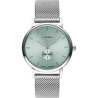 LLARSEN Analogueic Watch Quartz Woman with Stainless Steel Strap 144STS3-MS3-18