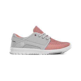 Etnies Scout Yarn Bomb Trainers in Grey/Red