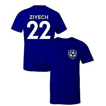 Hakim ziyech 22 club stijl kinderen speler voetbal t-shirt