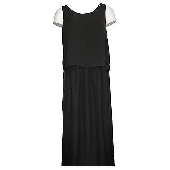 DG2 by Diane Gilman Easy Tank Maxi Dress Black 697876