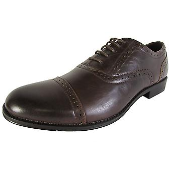 Madden by Steve Madden Mens M-Foster Cap Toe Dress Oxford Shoes
