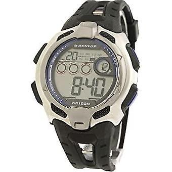 Dunlop watch dun-78-g03 black band with blue