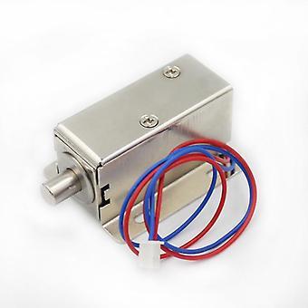 Dc12v 0.4a Electromagnetic Bolt Lock For Drawer File Cabinet