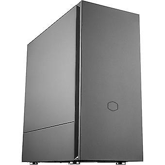 CoolerMaster Silencio S600 Silent Midi Tower Case - Black