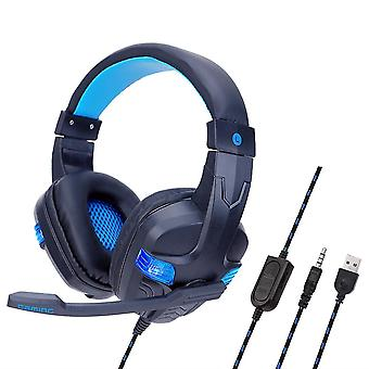 Portable Foldable 7.1 Surround Sound Gaming Headphone