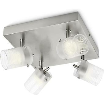 Philips myLiving Toile Adjustable LED Plate/Spiral Spotlights 4x4W - 532696716