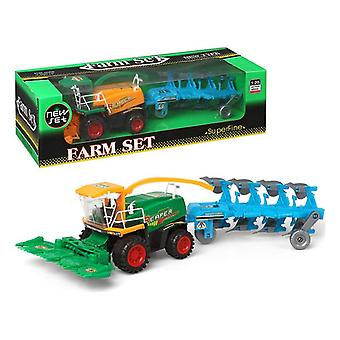 Tractor with Shovel and Trailer 111003