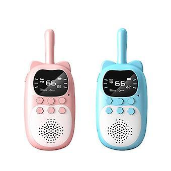 Przenośne handheld kids walkie talkie, królik owiewki, rozmowa rodzic-dziecko