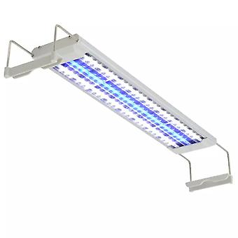 vidaXL Aquarium LED Lamp 50-60 cm Aluminium IP67