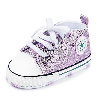 Baby first walkers shoes star solid soft anti-slip