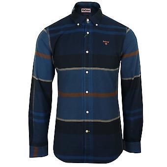 Barbour men's midnight tartan iceloch shirt
