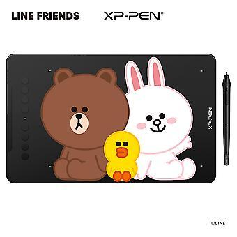 XP-PEN Deco 01 V2 LINE FRIENDS Edition Tekentablet Kids Cadeaupakket Ideaal voor thuiswerken & onderwijs op afstand  Ondersteunt Android-apparaten 6.0 en hoger, Chrome OS 88
