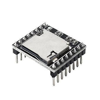 מיני נגן Mp3 מודול פענוח קול לוח U-דיסק Io / יציאה טורית עם כרטיס Tf