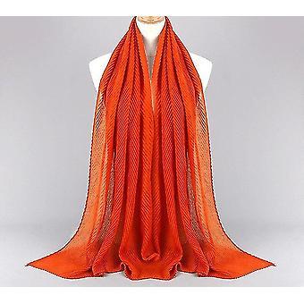 Women Plain Cotton Head Full Cover-up Scarf Wrap