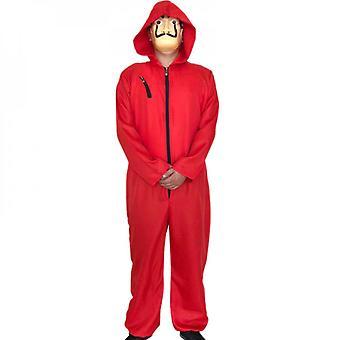 Unisex för Salvador Dali La Casa De Papel Money Heist Cosplay Halloween Kostym