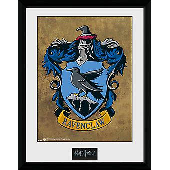 Harry Potter Ravenclaw inramade Collector Print