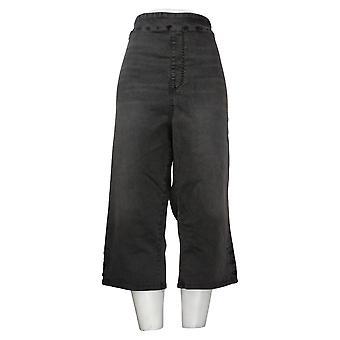 DG2 von Diane Gilman Damen Jeans Pull-On Pedal Pusher Grau 741935