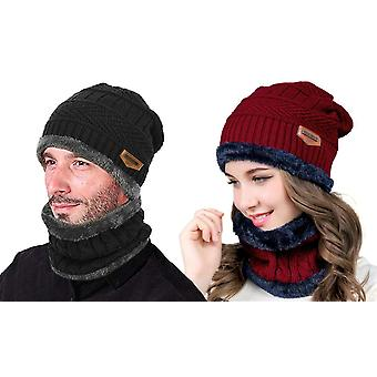 Warm set with hat and scarf
