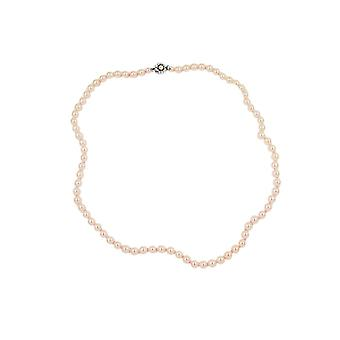 Necklace Apricot Coloured Knotted 90cm 46071 46071 46071