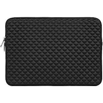 Tampa de caixa de computador de proteção da manga do laptop Diamond e capa de computador protetora resistente ao choque carregando saco