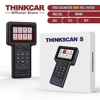 Thinkcar 2021 Thinkscan S05 Automotive Diagnostic Tool Oil/brake/sas/ets/dpf Resets Obd 2 Code Reader Scaner For Gm Auto Scanner