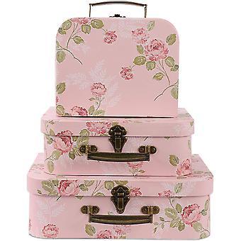 板紙スーツケース収納ボックス
