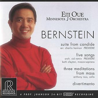 L. Bernstein - Bernstein: Suite From Candide; Five Songs; Three Meditations From Mass; Divertimento [CD] USA import