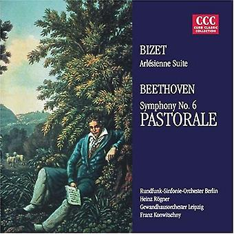 Bizet/Beethoven/Konwitschny/Panoráma - Bizet: L'Arl Sienne Suite No. 2; Beethoven: Symfonie nr. 6 Pastorale [CD] USA importeren