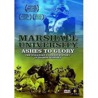 Marshall University: Ashes to Glory [DVD] USA import