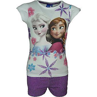 Disney Die Eiskönigin Elsa & Anna Mädchen 2 Stück Set T-shirt & Shorts