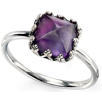 925 silver Amethyst Ring Trend