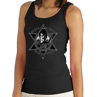 Black Star Ninja Ninjutsu Dojo American Ninja Women's Vest