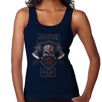 Master The Rage Kratos God Of War Women's Vest