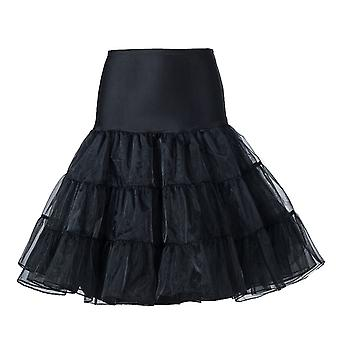 50's Petticoat Underskirt Retro Vintage Swing 1950's Rockabilly White, Black