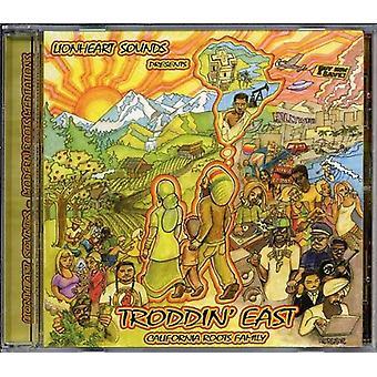 Lionheart Sounds - Troddin' East-California Roots Family [CD] USA import
