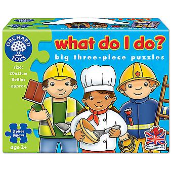 Orchard Toys 6 jigsaws What Do I Do?