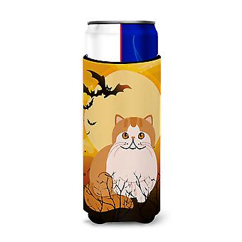Halloween Exotic Shorthair Cat Michelob Ultra Hugger for slim cans