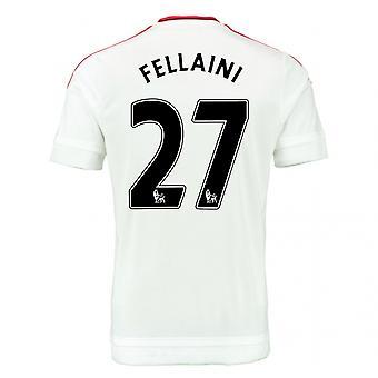 2015-2016 Man Utd Away Shirt (Fellaini 27) - Kids