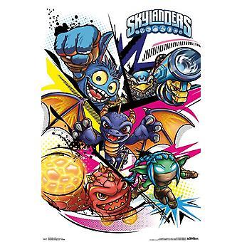 Skylanders - imprimir póster gráficos